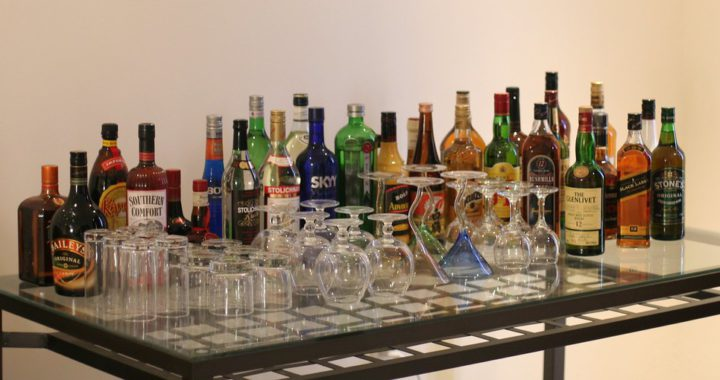 """""""liquor-table"""" by octal is licensed with CC BY 2.0."""